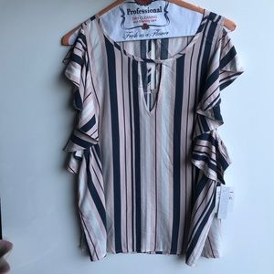 Nordstrom Rack  Abound blouse size L